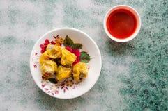 dumplings imagem de stock