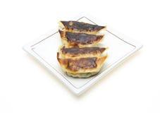 Dumplings on a dish Stock Image