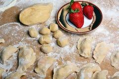Dumplings fruit Stock Image