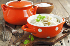 Dumplings with meat Royalty Free Stock Photography