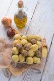 Dumplings with meatball Stock Image