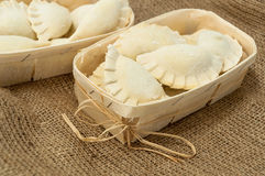 Dumplings pierogi Stock Images