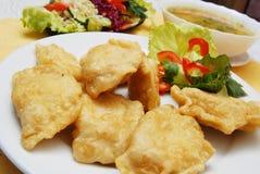 Dumplings , pierogi Stock Images