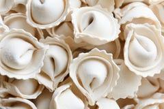 Dumplings or ravioli frozen bowl Stock Image