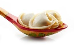 Dumplings russian pelmeni Royalty Free Stock Photo