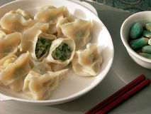 Dumplings and Seasoning. Dumplings formerly known as charming ear, is said to be YiSheng ZhangZhongJing first invented in China, it has one thousand eight royalty free stock image