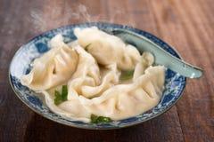 Dumplings soup Stock Images