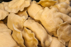 Dumplings stuffed with cheese and potatoes Royalty Free Stock Images
