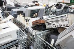 Dumpsite электронных устройств Стоковое фото RF