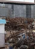 Dumpsite. With lots of rubbish Royalty Free Stock Photos
