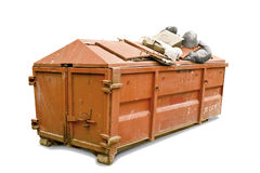 Dumpster Royalty Free Stock Photography