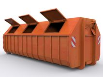 Dumpster Container Royalty Free Stock Photo