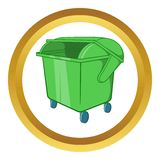 Dumpster vector icon Royalty Free Stock Photos