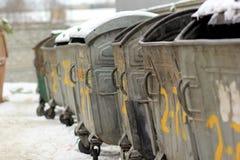 dumpsters Fotografía de archivo