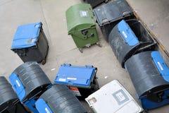 Dumpsters in Berlin Stock Photo