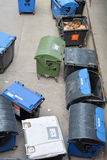 Dumpsters in Berlin Stock Photography