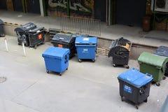Dumpsters in Berlin Stock Image
