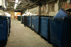 Dumpsters Royalty Free Stock Images