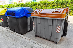 Dumpsters. Royalty Free Stock Images