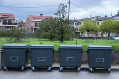 Dumpsters Royalty Free Stock Photo
