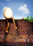 dumpty的Humpty 图库摄影