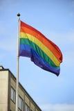 Dumy flaga Fotografia Royalty Free