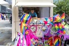 Dumy LGBT festiwal obrazy stock
