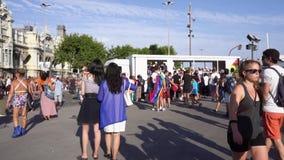 Dumy parada w Barcelona zbiory