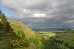 Dumyat peak in Stirling Stock Photos