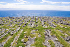 Dun Aengus,  Aran islands (Ireland) Royalty Free Stock Photos