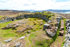 Dun Beag Fort Royalty Free Stock Photography