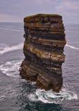 Dun Briste, Downpatrick Head, Co.Mayo Royalty Free Stock Images