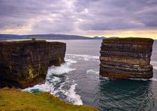 Dun Briste  Downpatrick Head  Co Mayo Royalty Free Stock Image