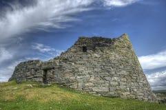 Dun Carloway Broch, Eiland van Lewis Royalty-vrije Stock Foto