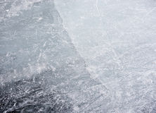 Dun ijs stock foto