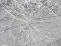 Dun ijs Royalty-vrije Stock Afbeeldingen