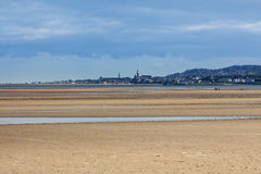 Dun Laoghaire and Blackrock area of Dublin Royalty Free Stock Images