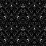 Dun zwart-wit patroon Royalty-vrije Stock Fotografie