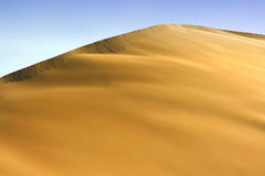 Duna bonita do deserto Imagem de Stock