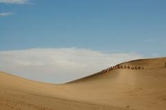 Duna de areia Imagem de Stock
