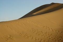 Duna de areia Imagem de Stock Royalty Free
