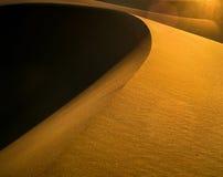 Duna de areia foto de stock