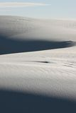 Duna de areia branca Imagem de Stock