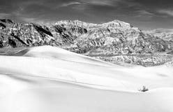 Duna de areia de Death Valley Imagem de Stock