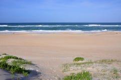 Duna de areia no cabo Hatteras, North Carolina imagem de stock royalty free