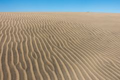 Duna de areia no gran canaria fotos de stock