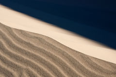 Duna de areia tormentoso Foto de Stock Royalty Free