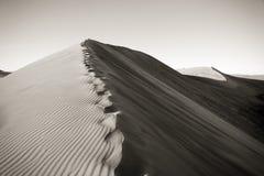 Duna de arena imagen de archivo libre de regalías