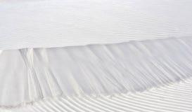 Duna de arena blanca Foto de archivo