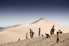 Duna de arena de Pilat foto de archivo libre de regalías